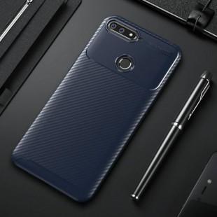 قاب ژله ای طرح کربن Autofocus Carbon Case Huawei Honor 7A