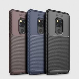 قاب ژله ای طرح کربن Autofocus Carbon Case Huawei Mate 20