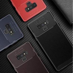 قاب ژله ای طرح کربن Autofocus Carbon Case Galaxy Note 9
