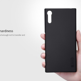 قاب محکم Nillkin Frosted shield Case Sony Xperia XZs