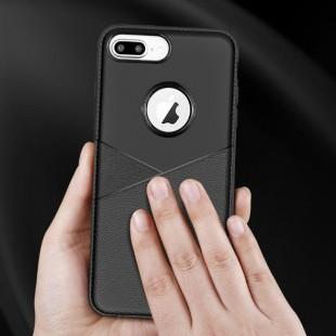 قاب ژله ای طرح چرم iPhone x