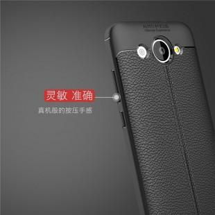قاب ژله ای Auto Focus Case Huawei Y3 2017