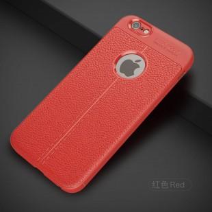 قاب ژله ای طرح چرم آیفون Auto Focus Case Apple iPhone 6