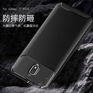 قاب ژله ای طرح کربن سامسونگ Autofocus Carbon Case Samsung Galaxy J7 Pro