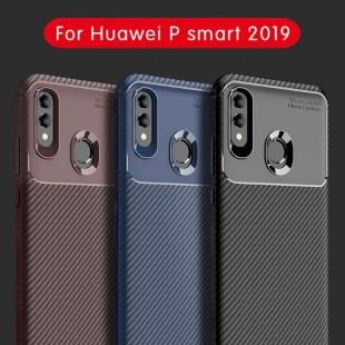 قاب ژله ای طرح کربن هواوی Autofocus Carbon Case Huawei P Smart 2019