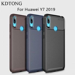 قاب ژله ای طرح کربن هواوی Autofocus Carbon Case Huawei Y7 2019