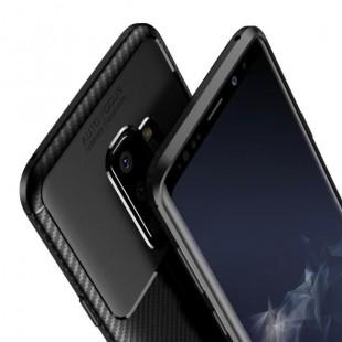 قاب ژله ای طرح کربن سامسونگ Autofocus Carbon Case Galaxy S9 Plus