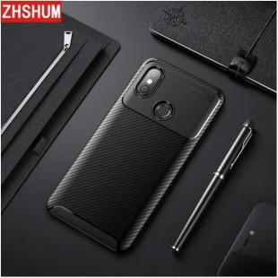 قاب ژله ای طرح کربن شیائومی Autofocus Carbon Case Xiaomi Mi 6X/Mi A2