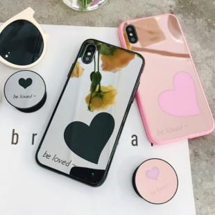 قاب آینه ای پاپ سوکت دار Mirror Love POP Case iPhone 6 Plus