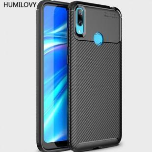 قاب ژله ای طرح کربن هواوی Autofocus Carbon Case Huawei Y6 Prime 2019