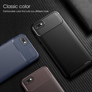 قاب ژله ای طرح کربن هواوی Autofocus Carbon Case Huawei Y5 Prime 2018