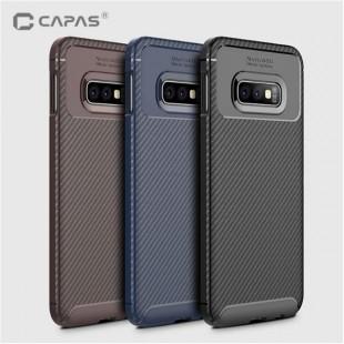 قاب ژله ای طرح کربن سامسونگ Autofocus Carbon Case Samsung Galaxy S10e
