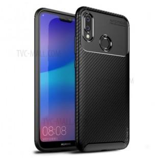 قاب ژله ای طرح کربن هواوی Autofocus Carbon Case Huawei P20 Lite/Nova 3e