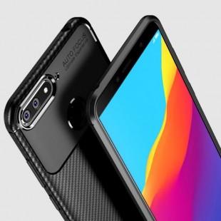 قاب ژله ای طرح کربن هواوی Autofocus Carbon Case Huawei Honor 7X