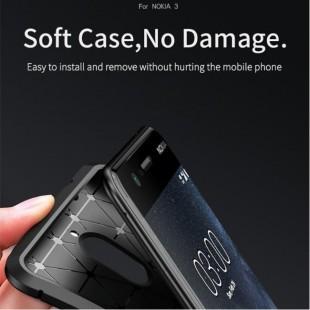 قاب ژله ای طرح کربن نوکیا Autofocus Carbon Case Nokia 3