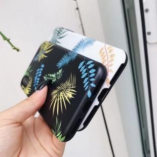 قاب ژله ای طرح برگ Leaf Patterned TPU Case iPhone Xs Max