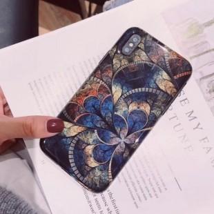 قاب ژله ای طرح اسلیمی Patterned TPU Case iPhone 7