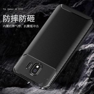 قاب ژله ای طرح کربن سامسونگ Autofocus Carbon Case Samsung Galaxy J4