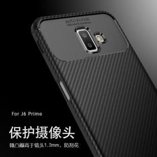 قاب ژله ای طرح کربن سامسونگ Autofocus Carbon Case Samsung Galaxy j6