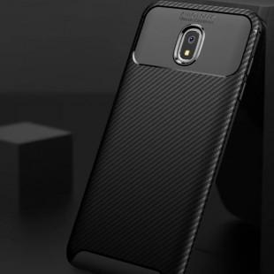 قاب ژله ای طرح کربن سامسونگ Autofocus Carbon Case Samsung Galaxy J7 2018