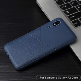 قاب ژله ای طرح چرم سامسونگ Samsung Galaxy A2 Core Leather TPU Case
