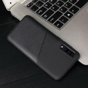 قاب ژله ای طرح چرم سامسونگ Samsung Galaxy A10 Leather TPU Case