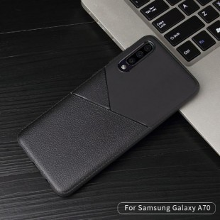 قاب ژله ای طرح چرم سامسونگ Samsung Galaxy M10 Leather TPU Case