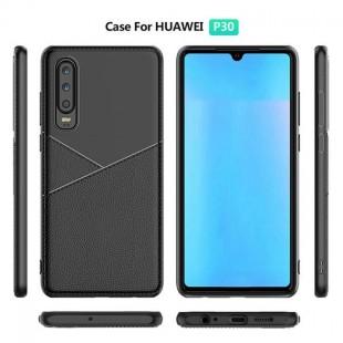 قاب ژله ای طرح چرم هواوی Huawei P30 Lite Leather TPU Case