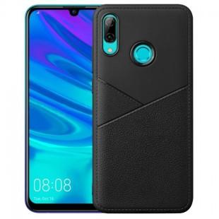 قاب ژله ای طرح چرم هواوی Huawei Y7 2019 Leather TPU Case