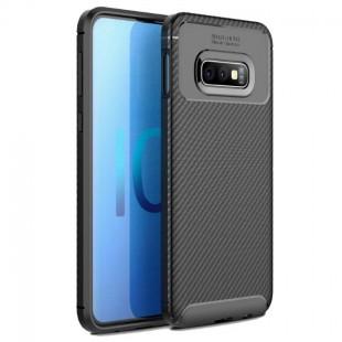 قاب ژله ای طرح کربن سامسونگ Autofocus Carbon Case Galaxy S8