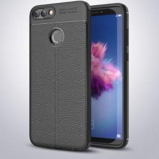 قاب ژله ای طرح چرم Auto Focus Case Huawei P Smart