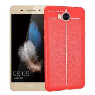 قاب ژله ای طرح چرم Auto Focus Case Huawei Y6 2