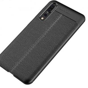 قاب ژله ای طرح چرم Auto Focus Case Huawei P20 Pro