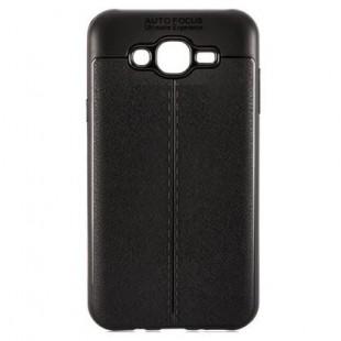 قاب ژله ای طرح چرم Auto Focus Case Samsung Galaxy Grand Prime