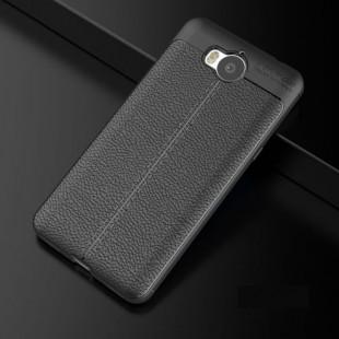 قاب ژله ای طرح چرم Auto Focus Case Huawei Y3 2