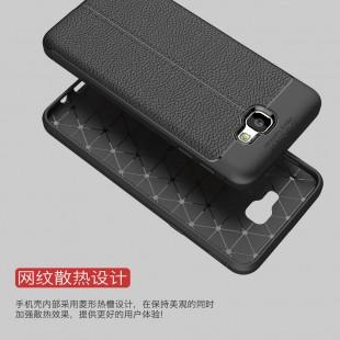 قاب ژله ای طرح چرم Auto focus Case Samsung Galaxy J7 Prime 2