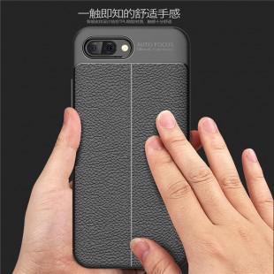قاب ژله ای طرح چرم Auto Focus Case Huawei Honor 10 Lite