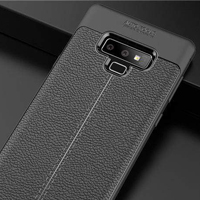 قاب ژله ای طرح چرم Auto Focus Case Samsung Galaxy Note 9