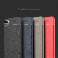 قاب ژله ای طرح چرم Auto Focus Case Huawei Honor 7A