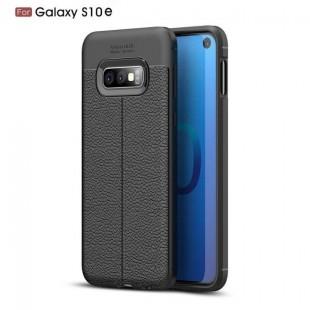 قاب ژله ای طرح چرم Auto Focus Case Samsung Galaxy S10e