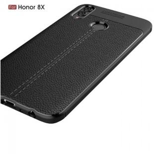 قاب ژله ای طرح چرم Auto Focus Case Huawei Honor 8X