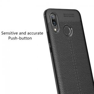 قاب ژله ای طرح چرم Auto Focus Case Huawei Nova 3i