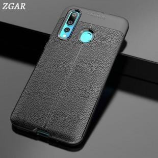 قاب ژله ای طرح چرم Auto Focus Case Huawei Nova 4