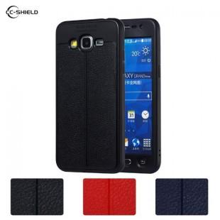 قاب ژله ای طرح چرم Auto Focus Case Samsung Galaxy J2 Prime