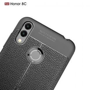 قاب ژله ای طرح چرم Auto Focus Case Huawei Honor 8C