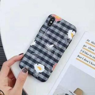 قاب ژله ای گل دار آیفون TPU Flower Case Apple iPhone Xs Max