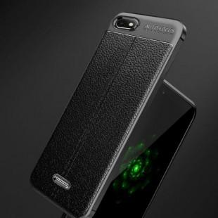قاب ژله ای طرح چرم شیائومی Auto Focus Case Xiaomi Redmi 6