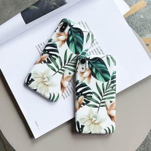 قاب ژله ای طرح برگ سامسونگ Leaf TPU Case Samsung Galaxy Note 8
