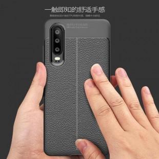 قاب ژله ای طرح چرم هواوی Auto Focus Case Huawei P30