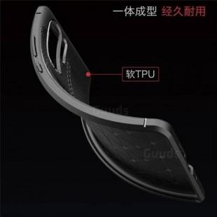 قاب ژله ای طرح چرم هواوی Auto Focus Case Huawei P30 Pro